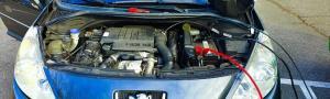Peugeot 207 qui ne passe pas au contrôle technique à cause de la pollution